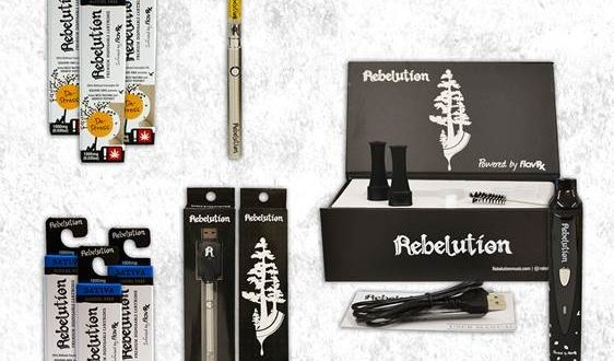 REBELUTION Announces Release of Cannabis Oil – Vaporizers & IPA Beer