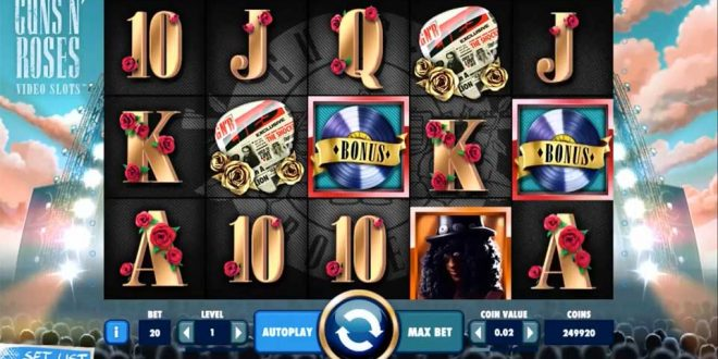 NetEnt Revisits the Classics Guns N' Roses with a new Slot