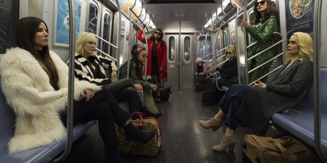 "A Fresh New Take On Gambling Movies: Ocean 8 set to redeem the whole All-Female Cast Controversy After Ghostbuster ""fiasco"""