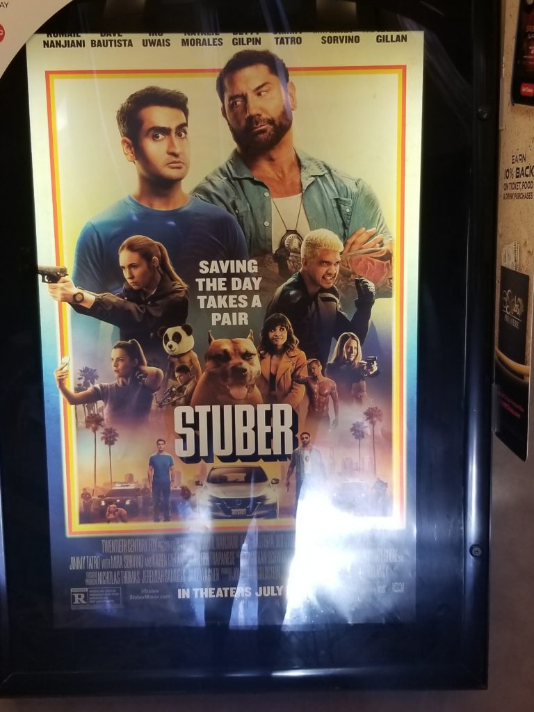"Up to date | REVIEW: ""STUBER"" (2019) 20TH CENTURY FOX"