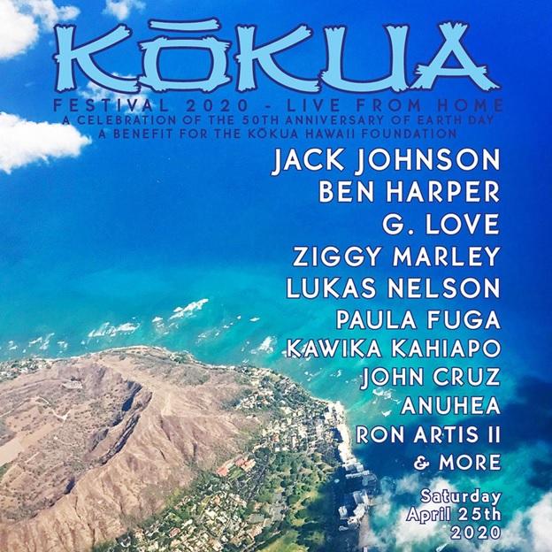 Jack Johnson Announces Kōkua Festival 2020 Live From Home