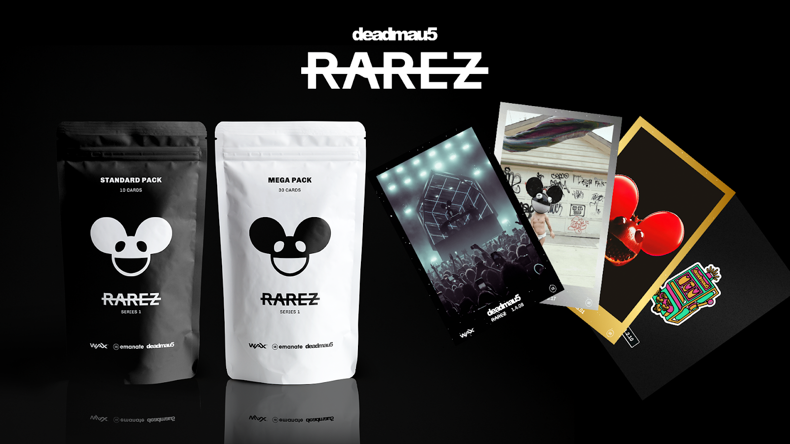 deadmau5 to Release Limited Series of Digital Collectibles on WAX  Blockchain -