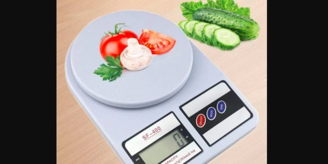Benefits of using kitchen scales