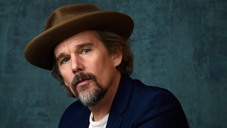 "Oscar Nominated Actor Ethan Hawke Suits Up to Play the Big Bad in Marvel's Upcoming Series ""Moon Knight"""