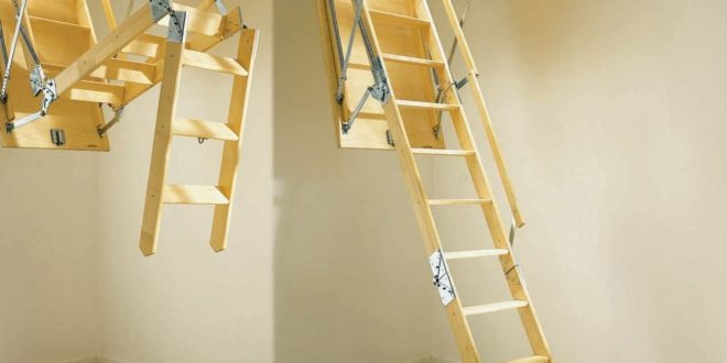 <strong>Installing a Folding Attic Ladder is the Best Solution for Easy Attic Access</strong>