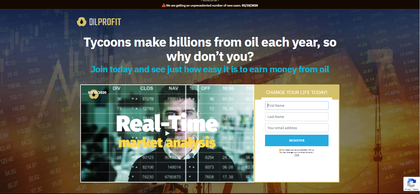 Oil Profit Trading Platform Reviews