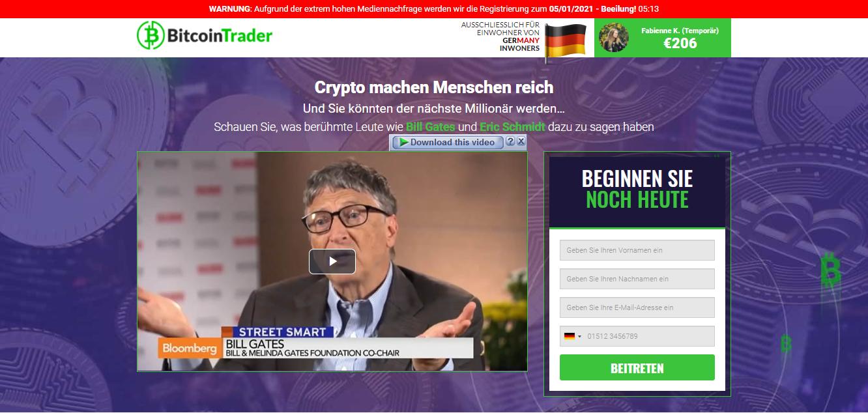 Oliver Welke Bitcoin Trader