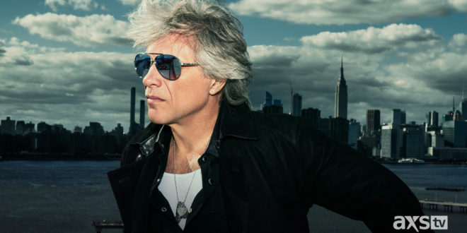 AXS TV Lands Exclusive Interview with Jon Bon Jovi -Airs Before Broadcast Premiere of Concert Film 'On a Night Like This -Bon Jovi 2020'