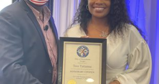 <strong>Tere Tatiana Hosts Successful Let's Talk Trucking Seminar And Named Honorary Citizen Of Statesboro</strong>
