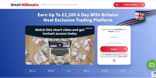 Brexit Millionaire Martin Lewis Review 2021 – Scam or A Remarkable Trading?