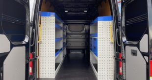 What are the benefits of Van Racking System?
