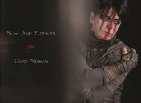 GARY NUMAN SHARES THE NEW SINGLE 'NOW AND FOREVER'