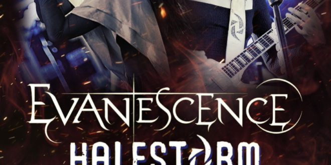 Halestorm + Evanescence Announce Fall 2021 Arena Tour