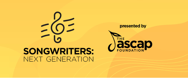 """The ASCAP Foundation """"Songwriters: Next Generation"""" Showcases Emerging Artists in New Virtual Format; Program debuts today"""