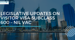 Legislative Updates on Visitor Visa Subclass 600 – Nil VAC