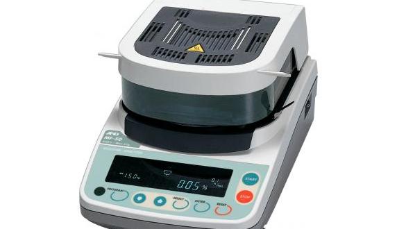 Mettler moisture analyzer