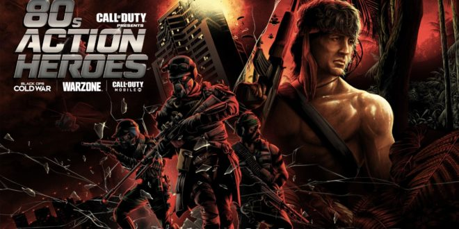 '80s Action Heroes are crashing Call of Duty: Black Ops Cold War, Call of Duty: Warzone
