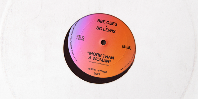 SG Lewis Remixes Bee Gees' Classic, 'More Than A Woman,' Out Today.