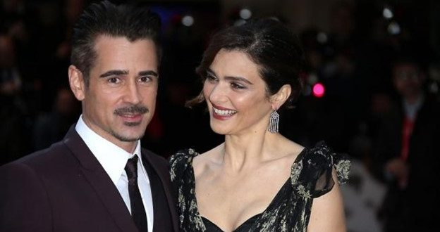 """""""The Lobster"""" Co-Stars Colin Farrell and Rachel Weisz Reteam for Director Todd Solondz's New Film """"Love Child"""""""