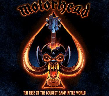 FANTOONS CAPTURES THE RAW STORY OF MOTÖRHEAD IN THEIR FIRST OFFICIAL GRAPHIC NOVEL