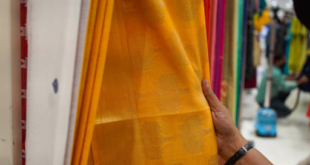 What is Banarasi silk made up of?
