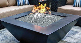 Best Rectangle and Square Fire Pits Look Book