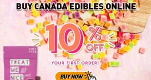 Buy THC Edibles Canada Online by Treat Me Nice
