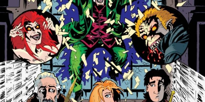 """Writer-Publisher James Kuhoric Resurrects Classic Horror Film """"Fright Night"""" in an All-New Comic Book This November"""