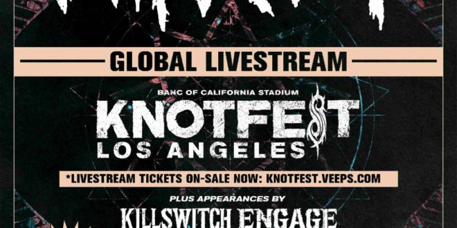 Slipknot Announce First Ever Livestream From Knotfest LA